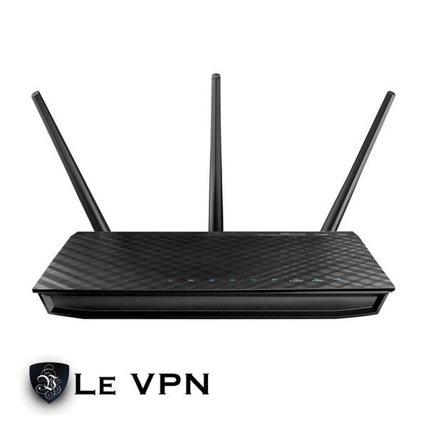 Le VPN Asus RT-N66R