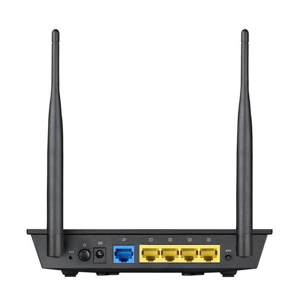 Asus RT-N12 VPN Router Back