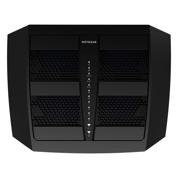 Netgear X6 R8000 VPN Router Top with Antennas down