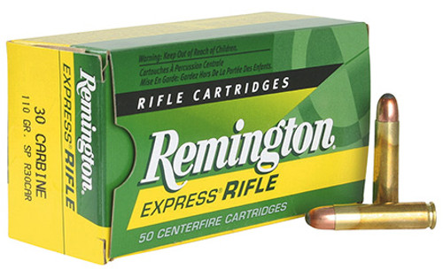Small img:A6: Remington 30 Carbine 110gr SP