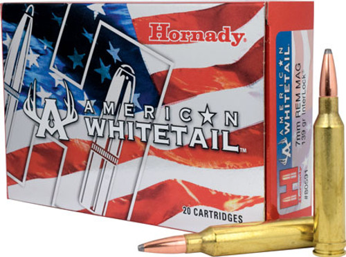 Small img:A6:Hornady American Whitetail 7mm REM MAG 139 GR