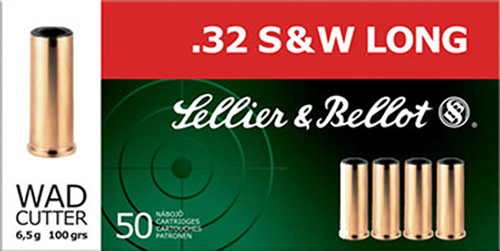 Small img:A3: Sellier & Bellot .32 S&WL 100 Gr