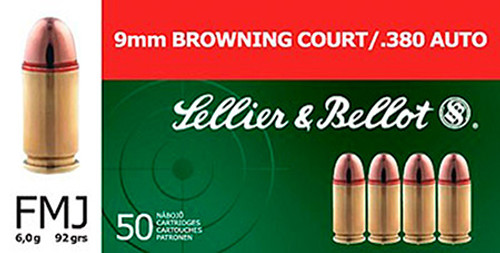 Small img:A2: SELLIER & BELLOT 380AUTO 92 FMJ 50
