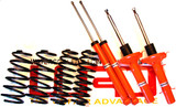 WRD Advantage CUP Kit, Includes WRD Advantage Sport Springs with Koni SRT.T Shocks for Golf/GTI MK4