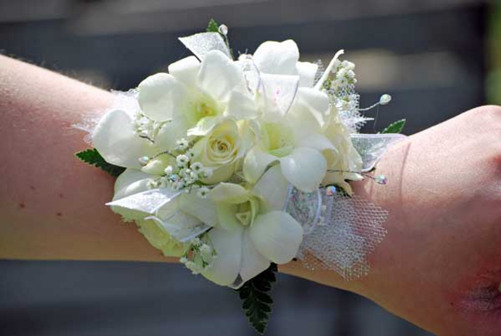 Rose & Orchid Wrist Corsage