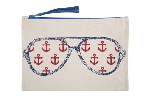 Captain Canvas Pouch - Navy