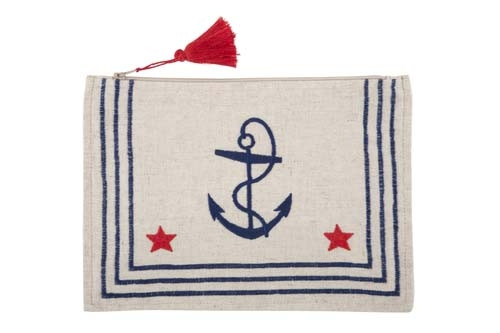 Sailor Shirt Pouch 7x10 - Navy