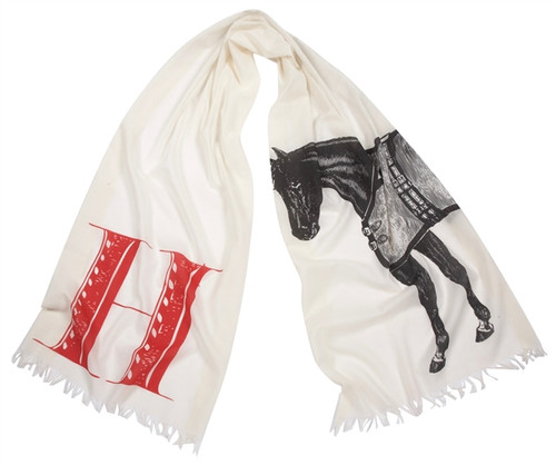 H HORSE SCARF