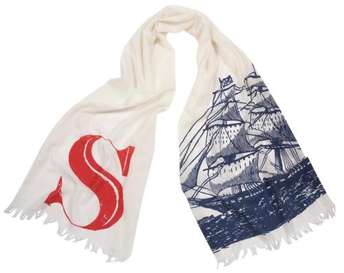 S SHIP SCARF