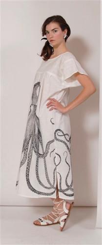 OCTOPUS BEACH DRESS LARGE/XL