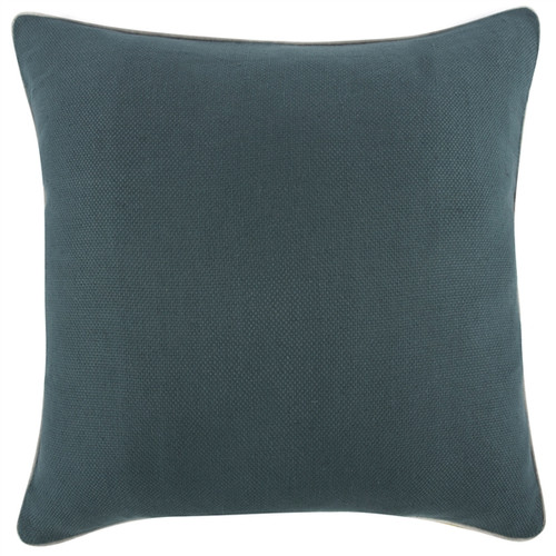 """CHIVE GREEN REVERSIBLE SOLID 22"""" PILLOW"""