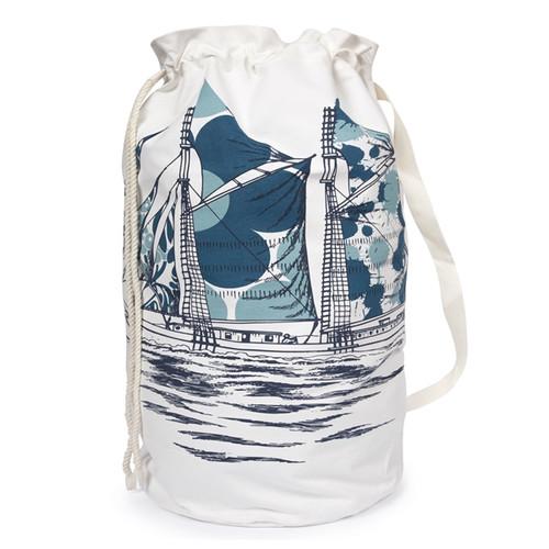 DAZZLE SHIP DUFFLE LAUNDRY BAG