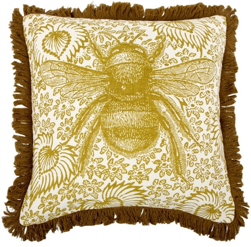 "BUZZ LINEN PILLOW 18""X18"""