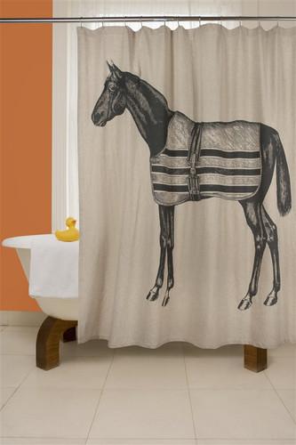 Equestrian Shower Curtain
