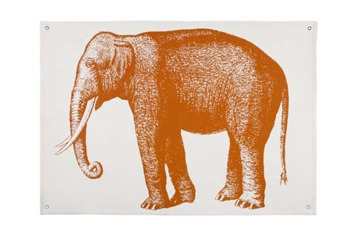 Elephant Wall Panel - Alcazar