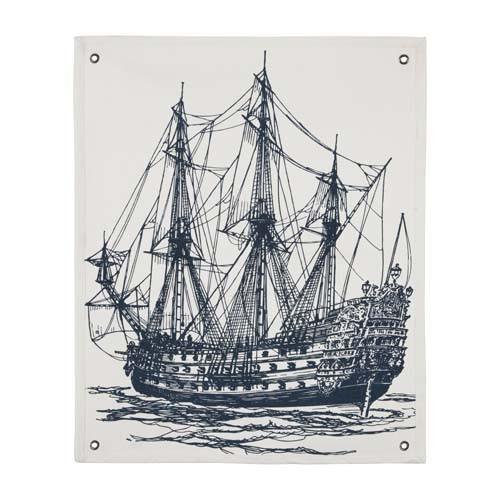Ship Wall Panel - Ink