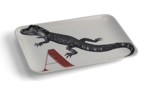 A Alligator Alphabet Tray