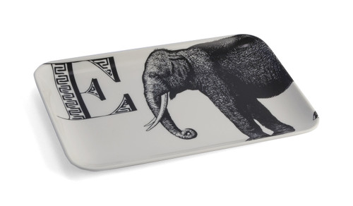 E Elephant Alphabet Tray