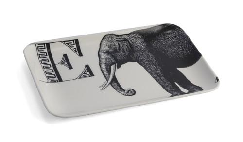 E Elephant Alphabet Tray