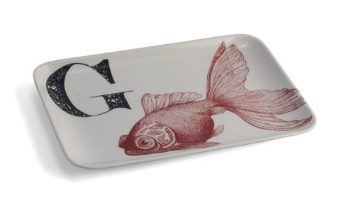 G Goldfish Alphabet Tray