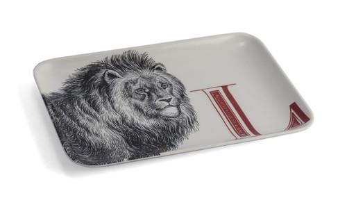 L Lion Alphabet Tray