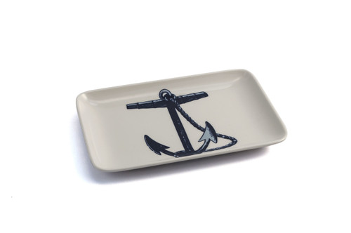 ANCHOR SOAP DISH/TRINKET TRAY