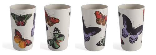 METAMORPHOSIS TUMBLERS SET OF FOUR
