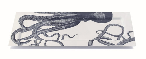 Scrimshaw Octopus Oversized Tray