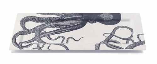 Scrimshaw Octopus Oversized Tray
