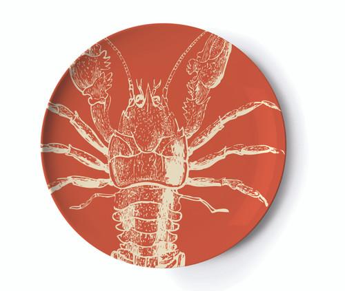 Sea Life Dinner Plates Set of Four