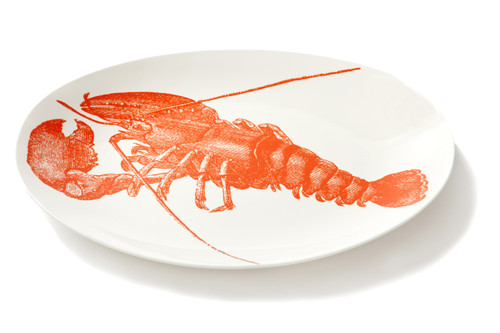 Sea Life Oval Lobster Platter
