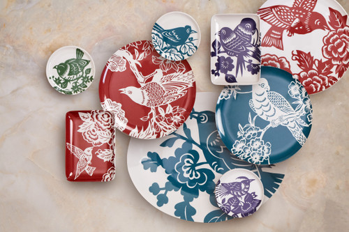 Aviary Side Plates Set of 4
