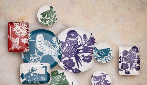 Aviary Hummingbird Soap Dish/Tray
