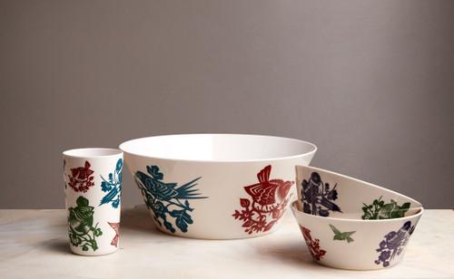 Aviary Small Bowls Set of 4