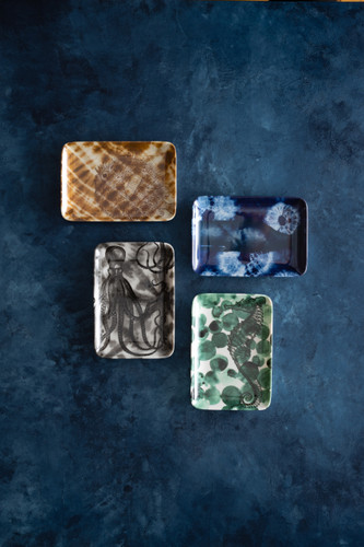 Shibori Octopus Soap Dish/Tray
