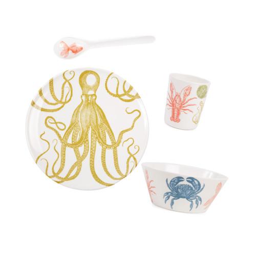 Sea Life Kids Melamine Set