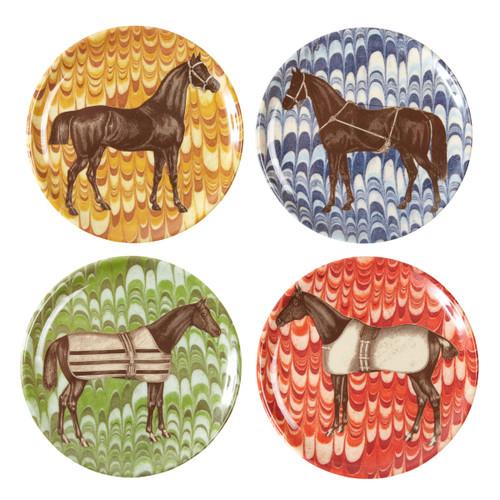 Equus Melamine Coaster Set