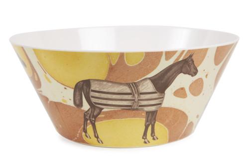 Equus Melamine Large Serving Bowl