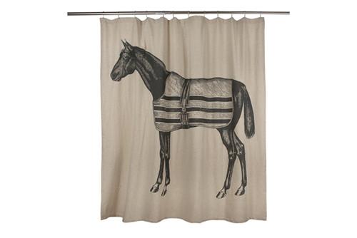 72 Equestrian Shower Curtain