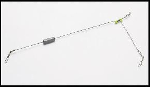 Bullet Weight Mr.Crappie Double Swivel Torpedo Chart 1//2oz 4ct
