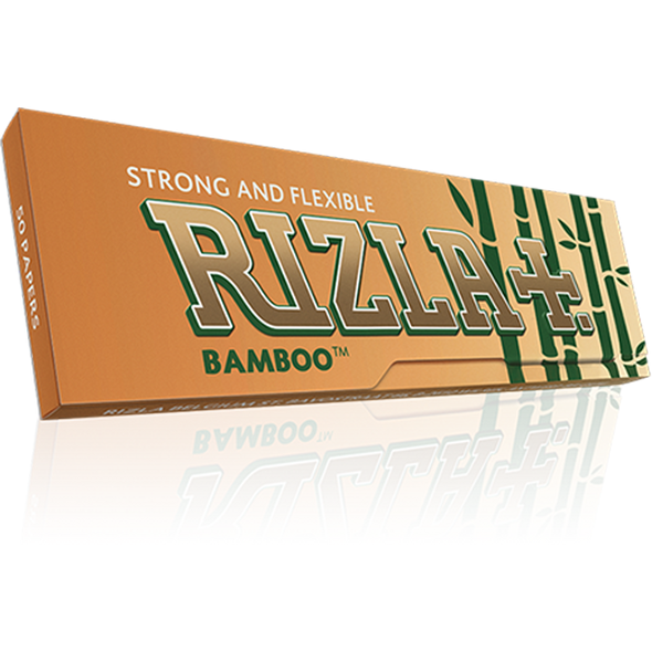 RIZLA Bamboo Ultra Thin Regular Single Wide Size Rolling Papers 70mm