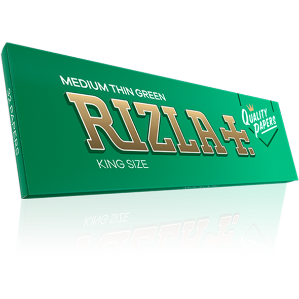 Rizla Medium Thin Green King Size Rolling Papers