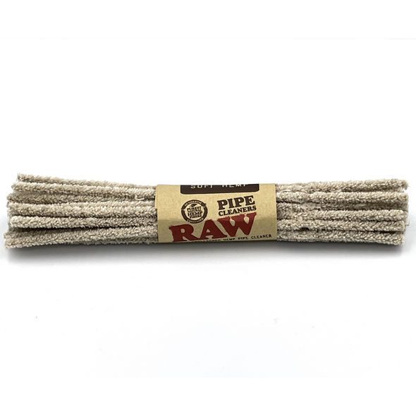 RAW Unbleached Hemp Pipe Cleaners Soft