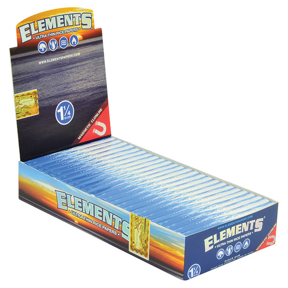 ELEMENTS 1-1/4 Rolling Papers