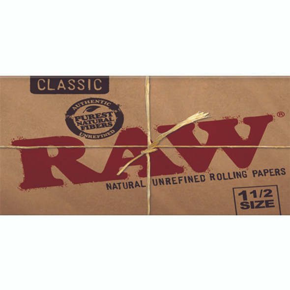 RAW Classic 1-1/2 Rolling Papers