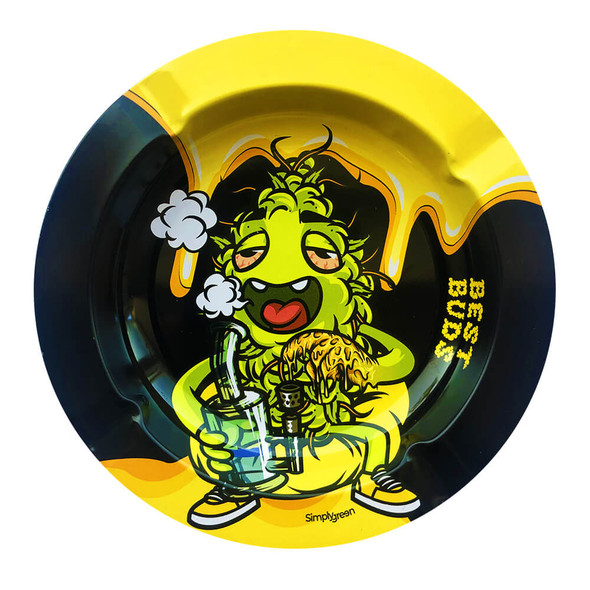 Best Buds Dab-All-Day Metal Ashtray