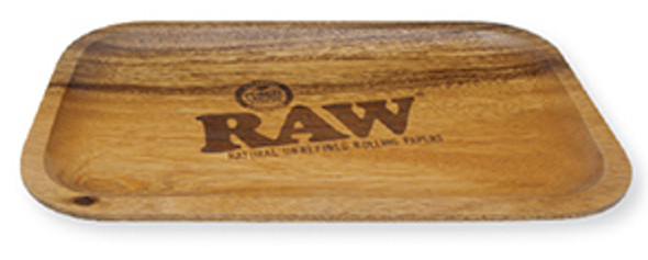 RAW Wood Rolling Tray with Carry Pouch