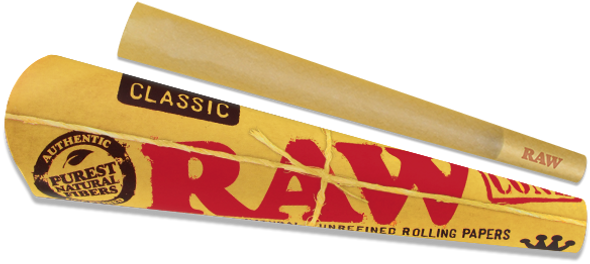 RAW Classic King Size Pre-Rolled Cones 3 Pack