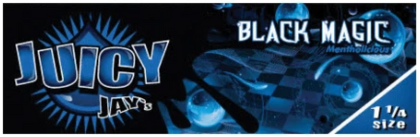 Juicy Jay's 1-1/4 Black Magic Flavoured Rolling Papers