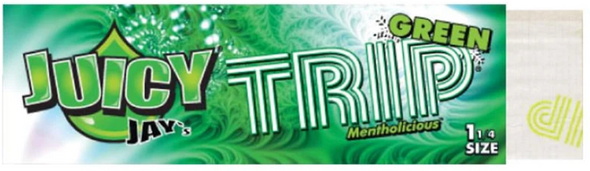 Juicy Jay's 1-1/4 Trip Flavoured Rolling Papers